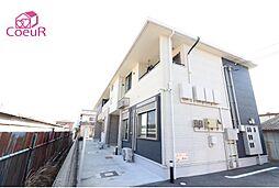 奈良県磯城郡田原本町大門西の賃貸アパートの外観
