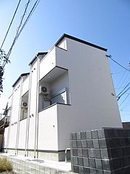 千葉県千葉市中央区白旗3丁目の賃貸アパートの外観