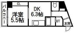 北海道札幌市南区澄川四条1丁目の賃貸マンションの間取り