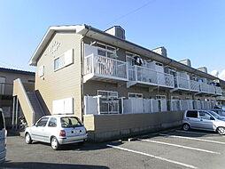 静岡県田方郡函南町間宮の賃貸アパートの外観