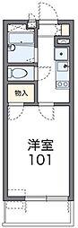 東京都大田区東糀谷4丁目の賃貸アパートの間取り