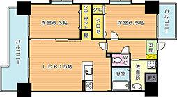 アローネ諏訪町[4階]の間取り