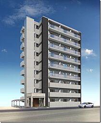 駅前町新築マンション[9階]の外観