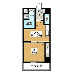 ヤマトマンション大須V[5階]の間取り