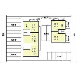 シエークル21 A[1階]の外観