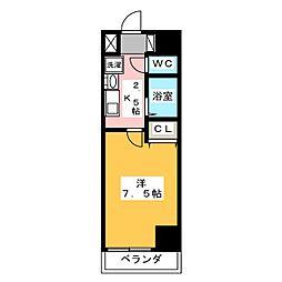 T's Dream栄[4階]の間取り
