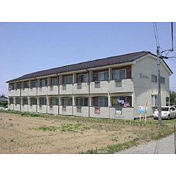 長野県佐久市田口の賃貸アパートの外観