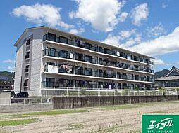 滋賀県大津市鏡が浜の賃貸マンションの外観
