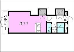 メゾン・ドゥ・シュー[108 号室号室]の間取り