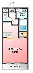 エターナル[1階]の間取り