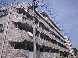 東京都北区中里2丁目の賃貸マンションの外観