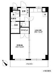 フィオーレ新横浜[705号室]の間取り