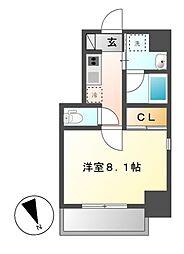 レジデンシア花の木[4階]の間取り