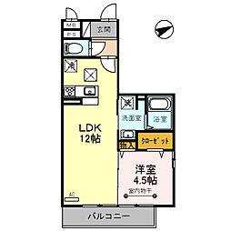 (仮)D‐room粕壁東2丁目[2階]の間取り