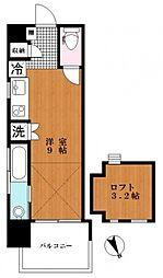 Aquila Urayasu Uno[10階]の間取り