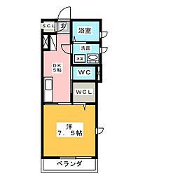 メモーリアWAKAKO[1階]の間取り