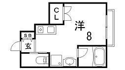 MONON CODE[1階]の間取り