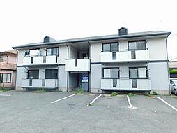 福岡県北九州市小倉北区下富野2の賃貸アパートの外観