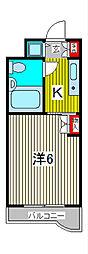 TOP川口第一[2階]の間取り
