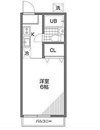 いちょう荘[2階]の間取り