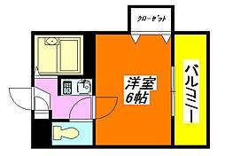 Collection・小阪 507号室[2階]の間取り