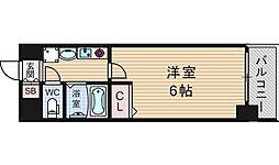 エステムコート難波サウスプレイス[5階]の間取り