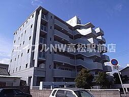 香川県高松市福岡町4丁目の賃貸マンションの外観
