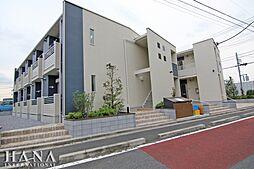 東京都足立区伊興4丁目の賃貸アパートの外観