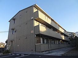 千葉県千葉市稲毛区作草部町の賃貸アパートの外観