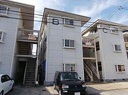 コーポホワイト南出島B棟[1階]の外観