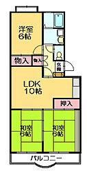 Flower 24[4階]の間取り