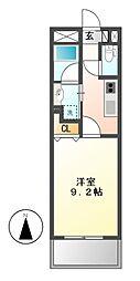 CHIKUSA AVANT-GARDE PLEACE[11階]の間取り
