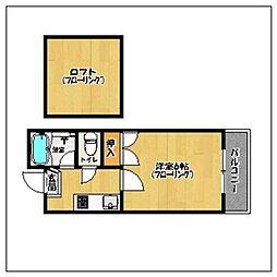 MT室見[2階]の間取り