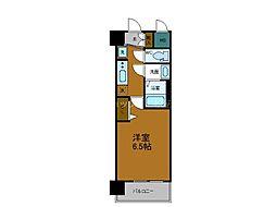 Osaka Metro中央線 緑橋駅 徒歩8分の賃貸マンション 7階1Kの間取り