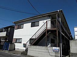 東京都江戸川区上一色1丁目の賃貸アパートの外観