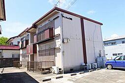 千葉県東金市東新宿の賃貸アパートの外観