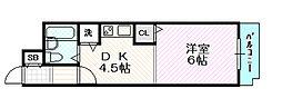 グラン・ピア関目[3階]の間取り