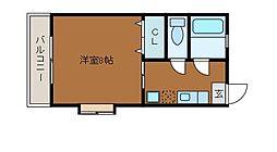 メゾン大澤[1階]の間取り