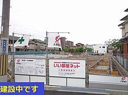 長野西アパートB[1階]の外観
