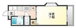 インペリアル伊川谷[5階]の間取り