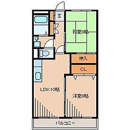 メゾン藤沢[2階]の間取り
