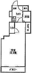 稲葉ビル[3−C号室]の間取り