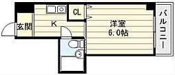 ケルンコトブキ[3階]の間取り