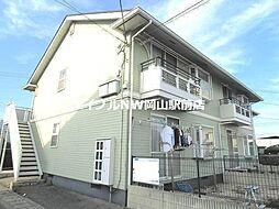 岡山県岡山市南区三浜町1の賃貸アパートの外観