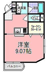 リエス東赤塚[306号室]の間取り