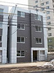 北海道札幌市中央区南三条西27の賃貸マンションの外観
