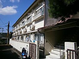 京都府京都市山科区御陵鳥ノ向町の賃貸アパートの外観