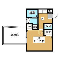 セントポーリア円町[2階]の間取り