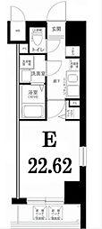 グリフィン横浜・山下公園[2階]の間取り