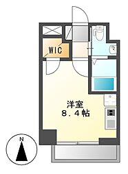 リベール名駅南[8階]の間取り